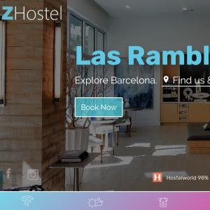 Hotel website reservations system